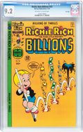 Bronze Age (1970-1979):Cartoon Character, Richie Rich Billions #23 File Copy (Harvey, 1978) CGC NM- 9.2Off-white to white pages....