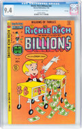 Bronze Age (1970-1979):Cartoon Character, Richie Rich Billions #24 File Copy (Harvey, 1978) CGC NM 9.4Off-white to white pages....