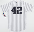 Baseball Collectibles:Uniforms, Mariano Rivera Signed New York Yankees Jersey - Steiner....
