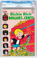 Silver Age (1956-1969):Humor, Richie Rich Dollars and Cents #10 File Copy (Harvey, 1965) CGC NM- 9.2 White pages....