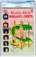 Bronze Age (1970-1979):Humor, Richie Rich Dollars and Cents #39 (Harvey, 1970) CGC NM/MT 9.8Off-white to white pages....