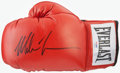 Boxing Collectibles:Autographs, Mike Tyson Signed Glove....