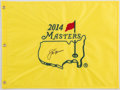 Golf Collectibles:Autographs, Jack Nicklaus Signed Masters Flag....