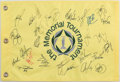 Golf Collectibles:Autographs, 2013 The Memorial Tournament Multi Signed Flag....