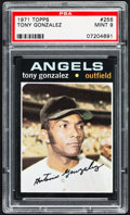Baseball Cards:Singles (1970-Now), 1971 Topps Tony Gonzalez #256 PSA Mint 9....