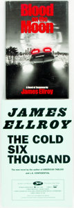 Books:Mystery & Detective Fiction, James Ellroy. Pair of First Editions. Includes: Blood on the Moon. New York: The Mysterious Press, [1984]. [with:] ... (Total: 2 Items)