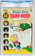 Bronze Age (1970-1979):Humor, Richie Rich Bank Book #3 (Harvey, 1973) CGC NM- 9.2 Off-white to white pages....