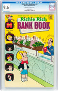 Bronze Age (1970-1979):Cartoon Character, Richie Rich Bank Book #4 (Harvey, 1973) CGC NM+ 9.6 Off-white towhite pages....