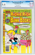 Modern Age (1980-Present):Humor, Richie Rich Bank Books #46 File Copy (Harvey, 1980) CGC NM 9.4Off-white to white pages....
