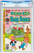 Modern Age (1980-Present):Humor, Richie Rich Bank Books #49 File Copy (Harvey, 1980) CGC NM/MT 9.8White pages....