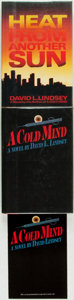Books:Mystery & Detective Fiction, [David L. Lindsay]. Pair of First Editions. Including: A ColdMind. [and:] Heat from Another Sun. Ne... (Total: 3Items)