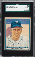 Baseball Cards:Singles (1940-1949), 1941 R336 Play Ball Pee Wee Reese #54 SGC 82 EX/NM+ 6.5. ...