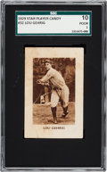Baseball Cards:Singles (Pre-1930), 1929 Star Player Candy Lou Gehrig #32 SGC 10 Poor 1. ...