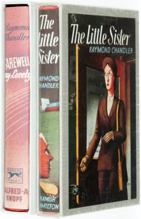 Raymond Chandler. Pair of Facsimile Editions. First Edition Library. Titles include Farewell My Lovely and