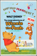 "Movie Posters:Animation, The Many Adventures of Winnie the Pooh & Other Lot (BuenaVista, R-1977). One Sheets (2) (27"" X 41"") Flat Folded.Animation.... (Total: 2 Items)"