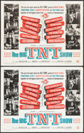 "Movie Posters:Rock and Roll, The Big T.N.T. Show (American International, 1966). Half Sheets (2)(22"" X 28"") and Insert (14"" X 36""). Rock and Roll.. ... (Total: 3Items)"