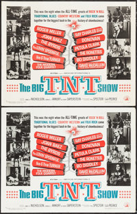 "The Big T.N.T. Show (American International, 1966). Half Sheets (2) (22"" X 28"") and Insert (14"" X 36""..."