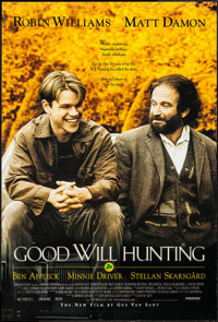 "Good Will Hunting & Other Lot (Miramax, 1997). One Sheets (2) (27"" X 40"") SS Regular and SS Advance. Drama..."