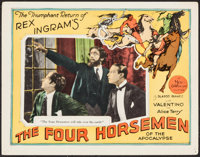 "The Four Horsemen of the Apocalypse (MGM, R-1925). Lobby Card (11"" X 14""). Drama"