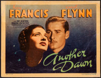 "Another Dawn (Warner Brothers, 1937). Title Lobby Card (11"" X 14""). Drama"