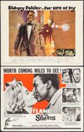 """Movie Posters:Drama, Flame in the Streets & Other Lot (Rank, 1961). Half Sheets (2)(22"""" X 28""""). Drama.. ... (Total: 2 Items)"""