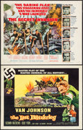 "Movie Posters:War, The Last Blitzkrieg & Other Lot (Columbia, 1959). Half Sheets(2) (22"" X 28""). War.. ... (Total: 2 Items)"
