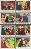 """Movie Posters:Romance, The Last Time I Saw Paris (MGM, 1954). Lobby Card Set of 8 (11"""" X 14""""). Romance.. ... (Total: 8 Items)"""