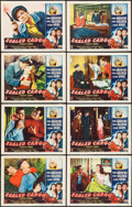 "Movie Posters:War, Sealed Cargo (RKO, 1951). Lobby Card Set of 8 (11"" X 14""). War..... (Total: 8 Items)"