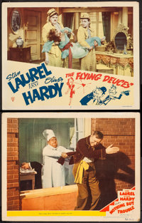 """Nothing but Trouble & Other Lot (MGM, 1944). Lobby Cards (2) (11"""" X 14""""). Comedy. ... (Total: 2 Items)"""
