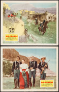 "Movie Posters:Western, Rio Grande (Republic, 1950). Lobby Cards (2) (11"" X 14""). Western.. ... (Total: 2 Items)"
