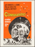"Movie Posters:War, Commando & Other Lot (American International, 1964). Posters(2) (40"" X 60""). War.. ... (Total: 2 Items)"