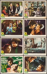 """Green Dolphin Street (MGM, 1947). Lobby Card Set of 8 (11"""" X 14""""). Adventure. ... (Total: 8 Items)"""