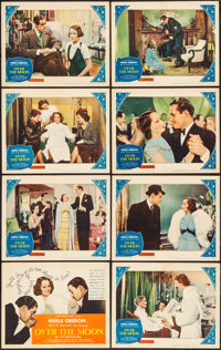 """Over the Moon (United Artists, 1939). Lobby Card Set of 8 (11"""" X 14""""). Comedy. ... (Total: 8 Items)"""