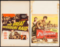 """Movie Posters:Adventure, The Pathfinder & Others Lot (Columbia, 1952). Window Cards (2)(14"""" X 22"""") & Trimmed Window Card (14"""" X 17.5""""). Adventure..... (Total: 3 Items)"""