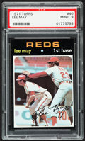 Baseball Cards:Singles (1970-Now), 1971 Topps Lee May #40 PSA Mint 9....