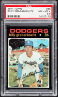 Baseball Cards:Singles (1970-Now), 1971 Topps Billy Grabarkewitz #85 PSA NM-MT+ 8.5....