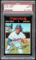 Baseball Cards:Singles (1970-Now), 1971 Topps Luis Tiant #95 PSA Mint 9....