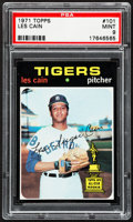 Baseball Cards:Singles (1970-Now), 1971 Topps Les Cain #101 PSA Mint 9....