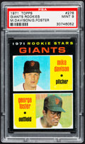 Baseball Cards:Singles (1970-Now), 1971 Topps Giants Rookies #276 PSA Mint 9....