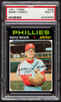 Baseball Cards:Singles (1970-Now), 1971 Topps Barry Lersch #739 PSA Mint 9....