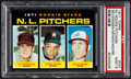 Baseball Cards:Singles (1970-Now), 1971 Topps NL Rookie Pitchers #747 PSA Mint 9....