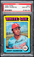 Baseball Cards:Singles (1970-Now), 1975 Topps Jerry Hairston #327 PSA Gem Mint 10....