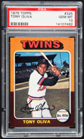 Baseball Cards:Singles (1970-Now), 1975 Topps Tony Oliva #325 PSA Gem Mint 10....