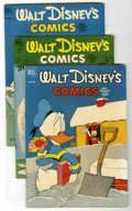 Golden Age (1938-1955):Cartoon Character, Walt Disney's Comics and Stories Group (Dell, 1952) Condition:Average FN.... (Total: 6 Comic Books)