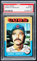 Baseball Cards:Singles (1970-Now), 1975 Topps Darold Knowles #352 PSA Gem Mint 10....