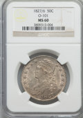 1827/6 50C O-101, R.2, MS60 NGC. NGC Census: (1/5). PCGS Population: (0/4). MS60. Mintage 5,493,400. From A Small Cal...