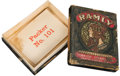 "Baseball Cards:Unopened Packs/Display Boxes, C. 1909 ""Ramly"" Turkish Cigarettes 2-Part Box. ..."