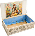"Baseball Cards:Unopened Packs/Display Boxes, 1880's Goodwin & Co. ""Gypsy Queen Straight Cut"" Cigarettes(N175) Retail Display Box! ..."