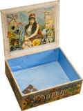 """Baseball Collectibles:Others, 1880's Goodwin & Co. """"Gypsy Queen"""" Cigarettes Retail Display Box. ..."""