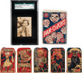 Non-Sport Cards:Lots, 1920's Schapira Brothers Candy Card and Original Boxes Collection(7 Pieces). ...
